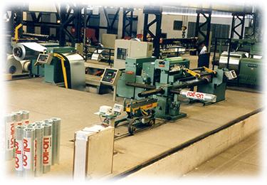 Automação das linhas de produção