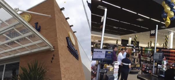 Roll-on no Supermercado Villarreal em São José dos Campos